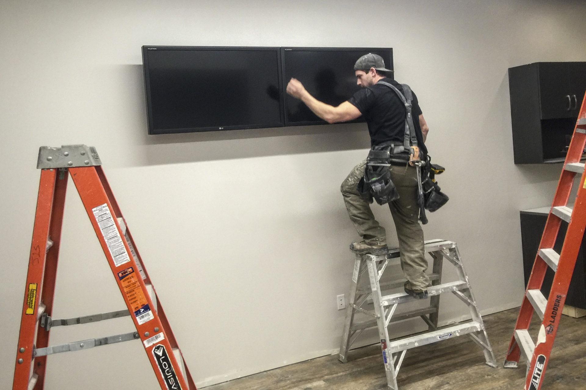 Shaw Park Renovation TV Installation