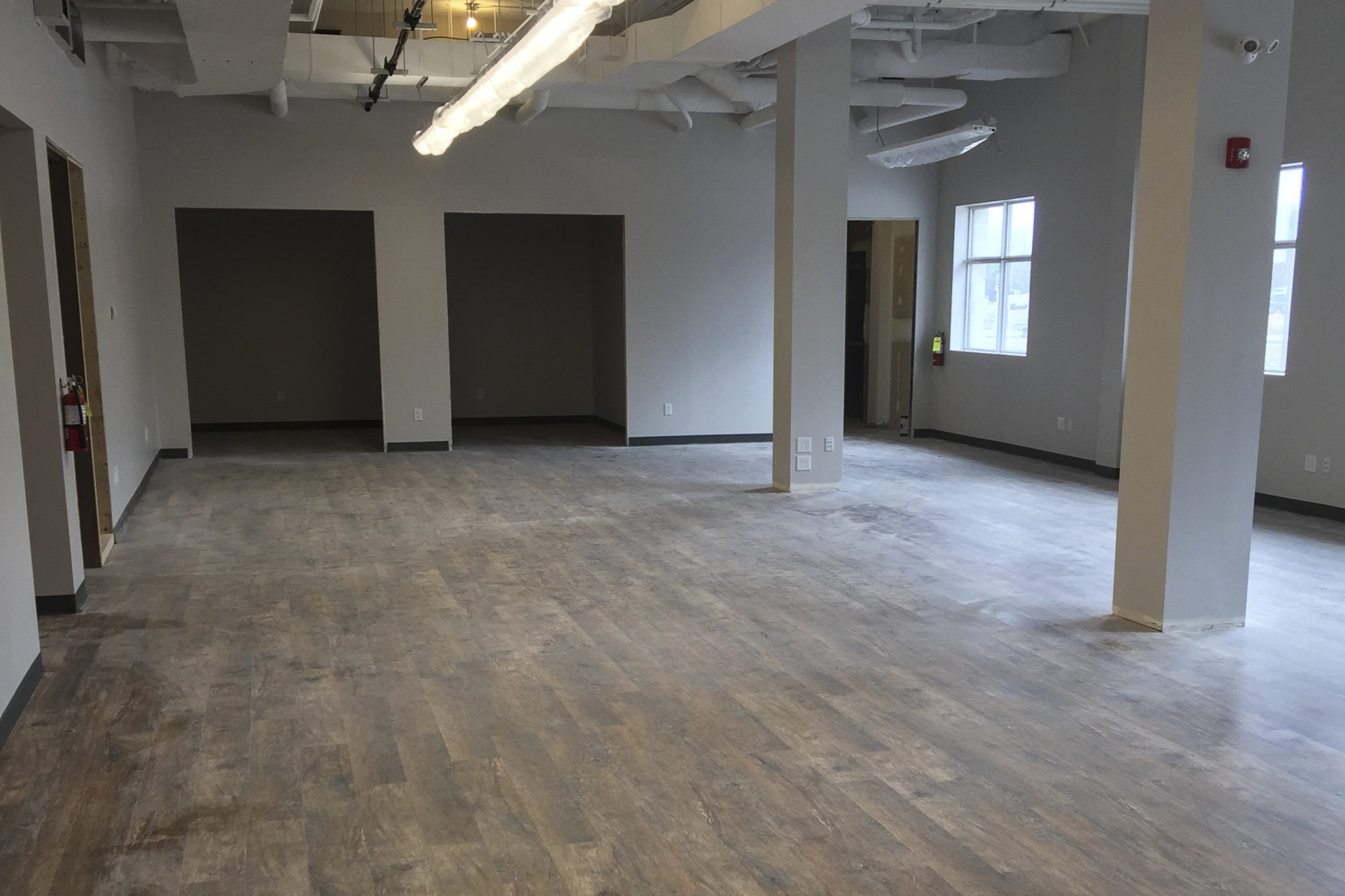 Shaw Park Renovation Interior Flooring