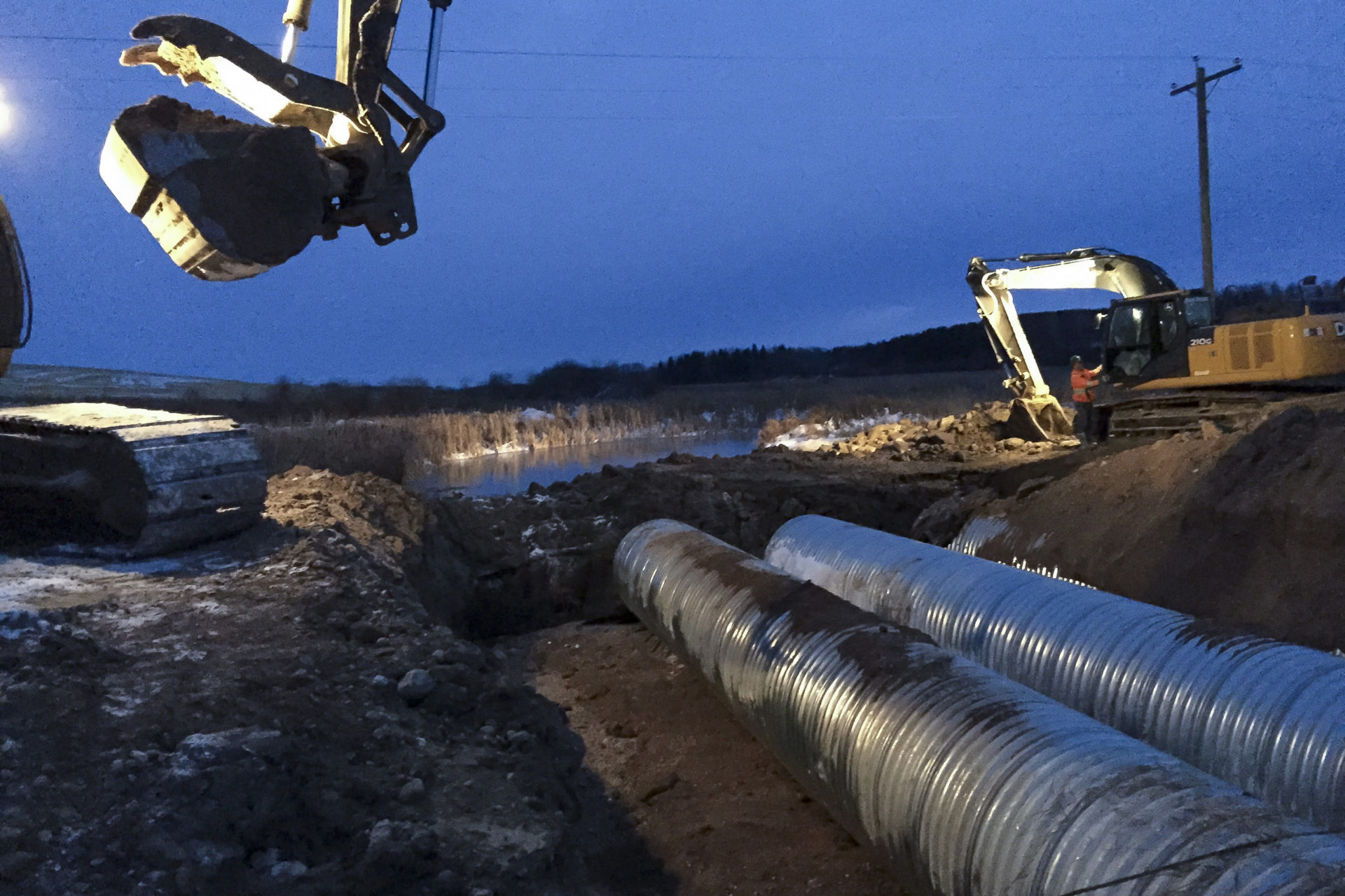 Valley River First Nation Drainage and Culvert Install